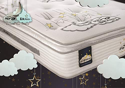 The Luxury Bed Co. 10 inch Memory Foam Mattress - Orthopaedic Mattress- Made in the UK (Small Double)