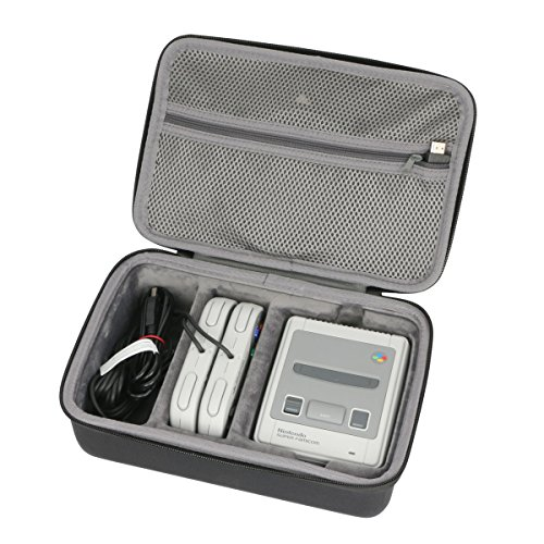 co2CREA Duro Viajar caja estuche funda para Super Nintendo - Consola SUPER NES Classic Mini(caja solo)