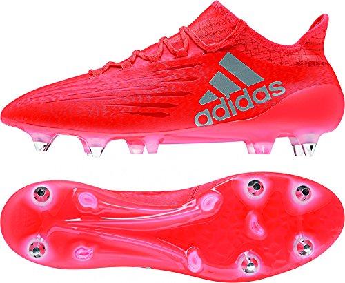 adidas Herren X 16.1 Sg Fußballschuhe, Orange (solar Red/Silver Metallic/hi-Res Red), 40 2/3 EU