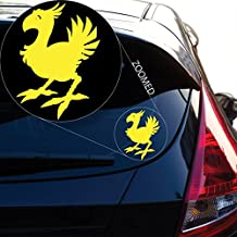 Chocobo Final Fantasy 7 Decal Sticker for Car Window, Laptop Room (5.5