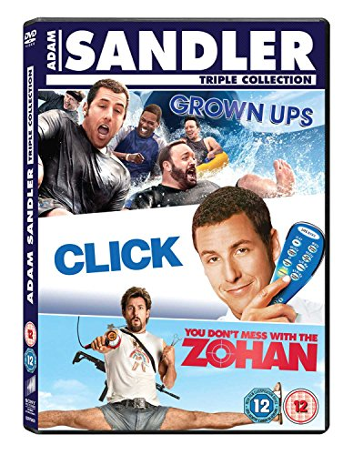 Click / Grown Ups / You Dont Mess With The Zohan [DVD]