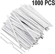 SLSY Nose Bridge Wires 1000 PCS Adjustable Nose Bridge Strips Metal Nose Strip Wire for Face DIY Making