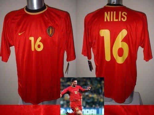 Nike Belgien Nilis BNWT Trikot Fußball XL Vintage Aston Villa Anderlecht PSV Top Belgien Trikot