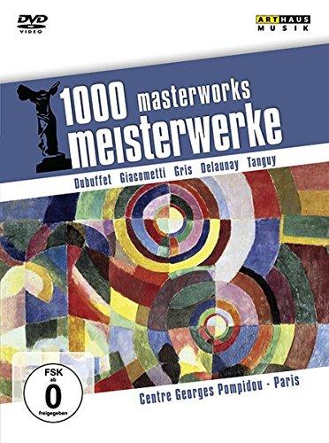 1000 Meisterwerke - Centre Georges Pompidou - Paris, 1 DVD