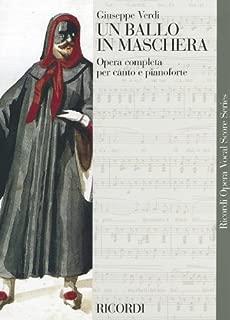 un ballo in maschera vocal score