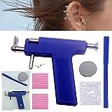 Ear Piercing Tool Kit, Earring Pericings Gun Tools Set,98Pcs Ears Nose Navel Lip Piercer Machine Studs, Stainless Steel Body Hole Peircing Peicing Guns Stud Earrings For Salon Home Pearcings Kits