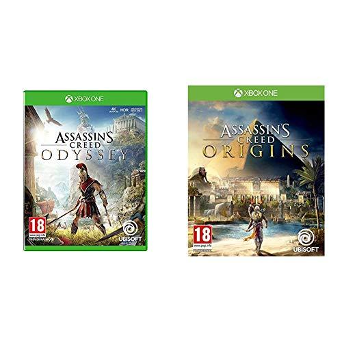 UBISOFT Assassins Creed Odyssey - Xbox one, Edición:Estándar + Assassin's Creed Origins