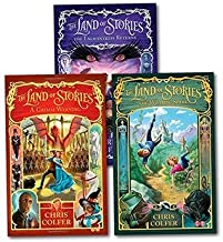 The Land of Stories 3-Book Set by Chris Colfer (Wishing Spell, Grimm Warning, Enchantress Returns)