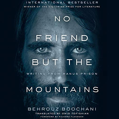 No Friend but the Mountains audiobook cover art