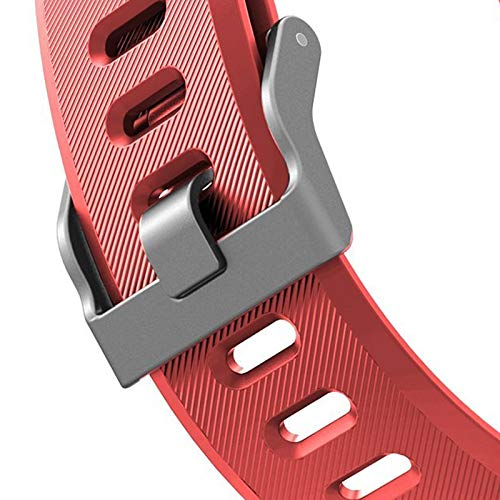 Veryfitpro Bands Replacement Straps for ID115plus HR Smart Watch Bands for Letscom, Lintelek, Letsfit ID115Plus HR Fitness Tracker (Red)
