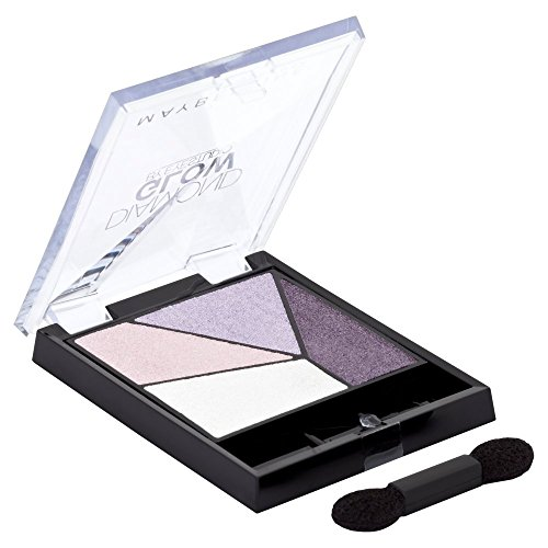 Maybelline New York Lidschatten Eyestudio Quattro Diamond Glow Palette Purple Drama 01 / Eyeshadow...