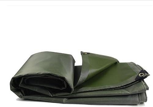 XIAOPING Visière en Toile de Camping bache d'ombrage (Couleur   Vert, Taille   3x5m)