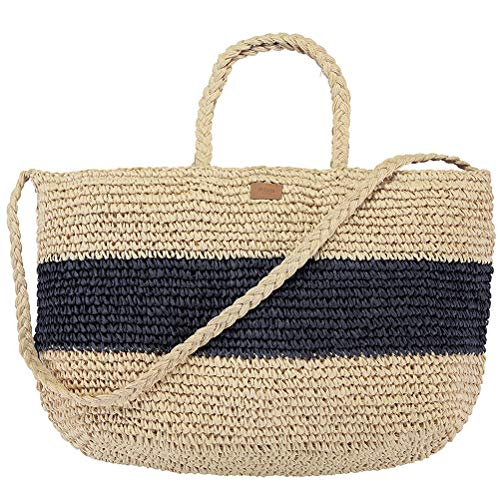 Barts Damen Shopper Windang Beach Bag navy (beige navy)