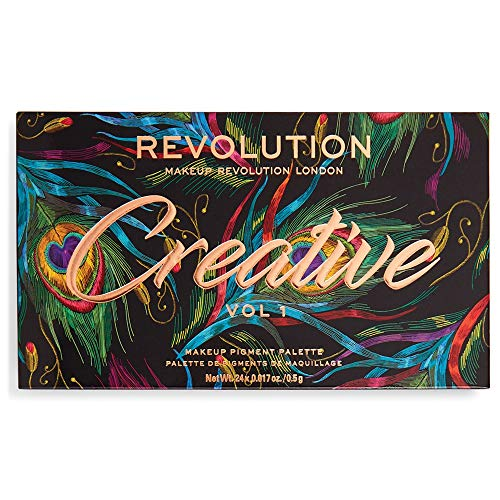 Paleta de Sombras Revolution Creative Vol1-0.5g