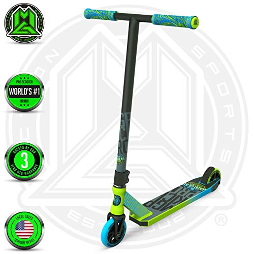 Buy Bargain Madd Gear MGP Action Sports Kick Pro Scooter (Green/Blue 2019)