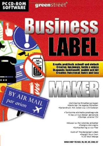 Greenstreet Business Label Maker (PC) [import anglais]