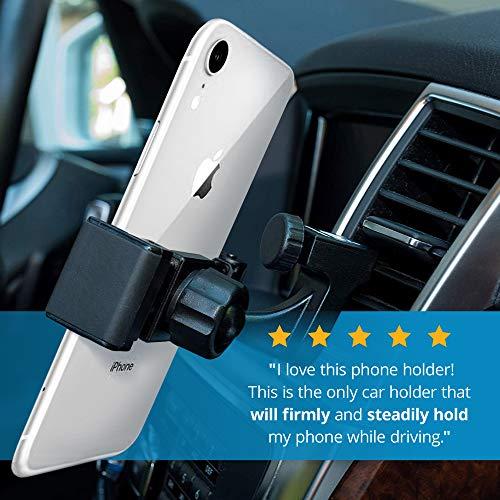 Square Jellyfish Car Mount Cell Phone Holder | Premium Quality Car Vent Phone Mount