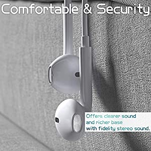Earbuds Headphone Wired Earphones Headset with Microphone and Volume Control, Compatible with iPhone Xs/XR/XS Max/iPhone 7/7plus 8/8plus /11/12/pro/se iPad/iPod-08