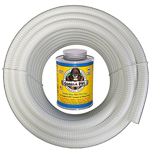 : HydroMaxx 50 Foot x 3/4 Inch White Flexible