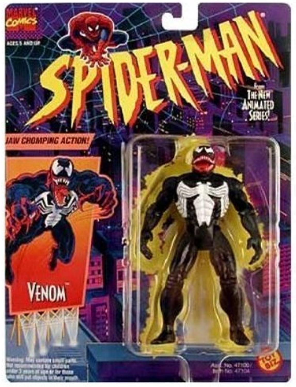 Spider-Man  The Animated Series   Venom Action Figure by Toy Biz