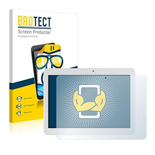 BROTECT Schutzfolie kompatibel mit i.onik TM3 Series 1 10.1 (2 Stück) klare Bildschirmschutz-Folie