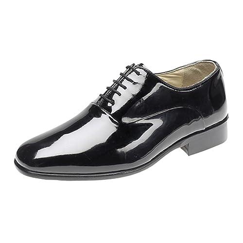 1ada3fd65b32b Shoes Black Patent Leather: Amazon.co.uk
