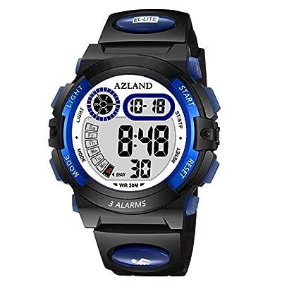 AZLAND Boys Girls Watches,Sports Watch,Digital Watch Features Night-light,Swim,Frozen,Waterproof