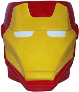Marvel MC7695 Iron Man 3D Sculpted Ceramic Mug, 20-ounces, Red and Yellow