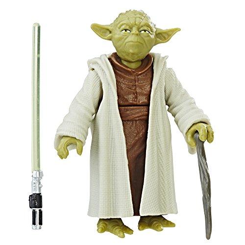 Star Wars Yoda Figur aus Star Wars Der letzte Jedi C1531 mit Force Link