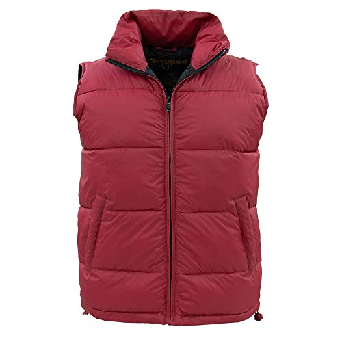 4ef927f059527a Tempco Men s Marty McFly Retro Vest - Red Puffer Vest - Down - Back to The