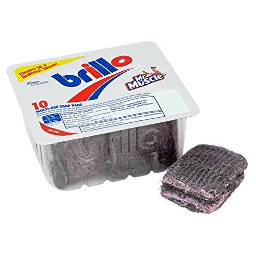 Brillo Soap Pads 10 per Pack