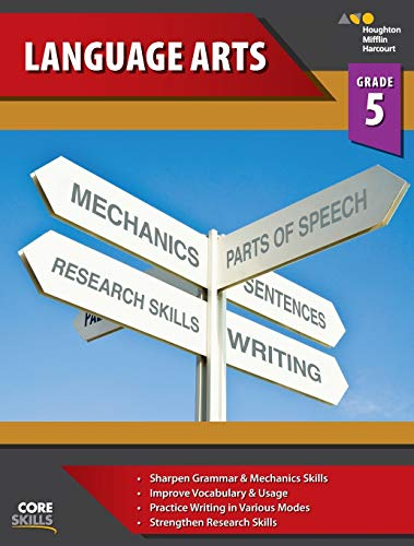 Compare Textbook Prices for Steck-Vaughn Core Skills Language Arts: Workbook Grade 5 1 Edition ISBN 9780544267886 by STECK-VAUGHN