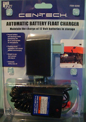 Cen-tech Automatic Battery Float Charger - 2 Pack