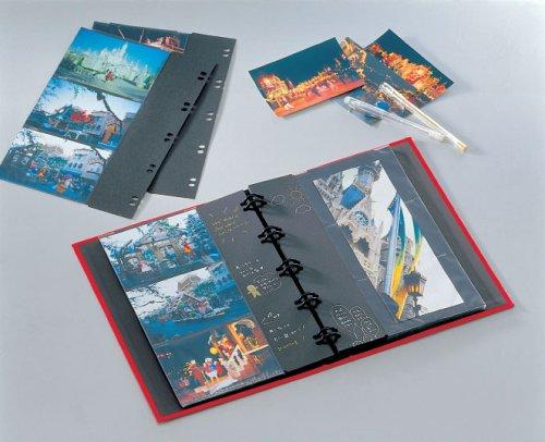 SEKISEIアルバムポケットハーパーハウスレミニッセンスバインダータイプL120枚収容L201~300枚布レッドXP-2102