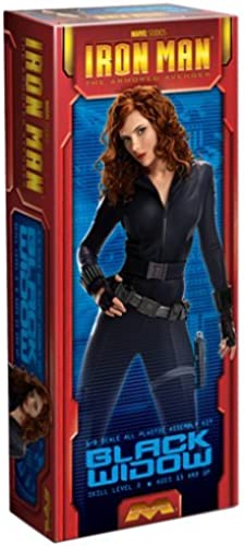 [UK-Import]Moebius Iron Man schwarz Widow model kit