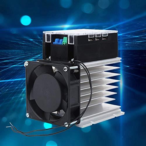 Accesorios de motor Módulo de arranque de motor Controlador de motor 50-60HZ TSR-80WA-R1 (8KW) Trifásico para máquina industrial con arranque suave sin parada(Module + radiator)