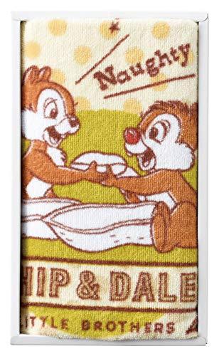 丸眞 タオルギフトセット ディズニー チップ&デール DS-5405 フェイスタオル 1枚 ナッツ大好き 2275016100