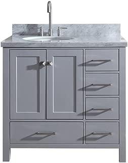 Best left offset bathroom vanity Reviews