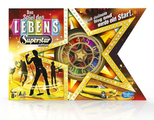 Hasbro A4623100 - Spiel des Lebens Superstar Edition