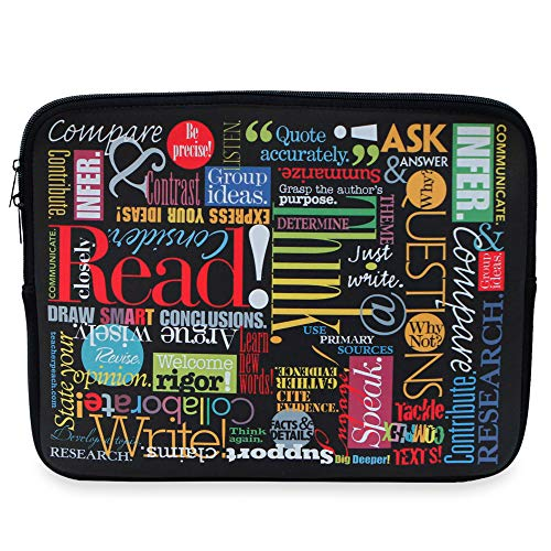 Teacher Peach Laptop Cases (WTGB, 15 inches)