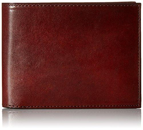 Bosca Men's Continental I.D. Wallet, Dark Brown