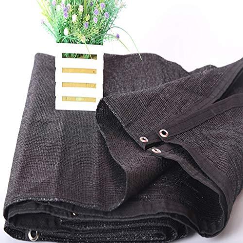 GHYW Shading Net, Encryption Sunscreen 2Mx2M Fleur Balcon Jardin À Effet de Serre en Plein Air Ombre Noire (Taille : 5Mx5M)