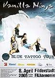 Konzertplakat Vanilla Ninja Stuttgart 2005