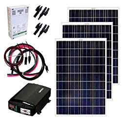 Grape Solar 300-Watt Solar Panel Kit