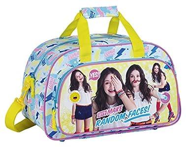 Safta Safta Sf-711676-273 Bolsa de viaje, 40 cm, 10 litros, Multicolor