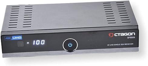 Octagon SF8008 4K UHD 2106p E2 DVB-S2X - Lector de Tarjetas para Enigma2 Linux OS HbbTV