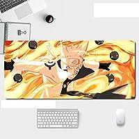 マウスパッドワンピースアニメ表面摩耗保護オフィスホームマウスパッド-A_700X300X3mm