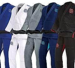 Sanabul Essentials V.2 Ultra Light Pre Shrunk BJJ Jiu Jitsu Gi (Black, A2) See Special Sizing Guide