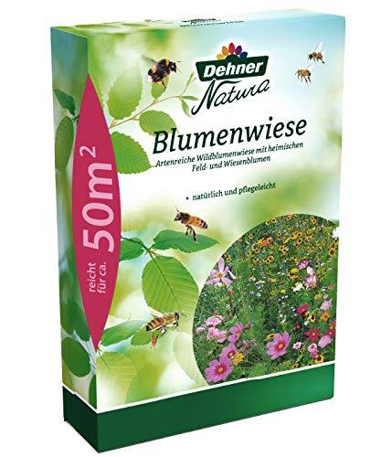 Dehner Natura Saatgut, Blumenwiese, 0.5 kg, für ca. 50 qm