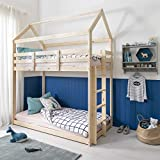 Noa and Nani - Ingvar Treehouse Bed - (Natural Pine)